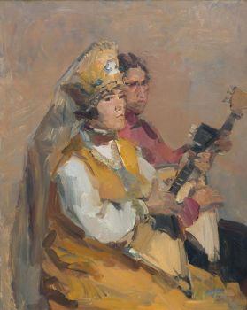 The Balalaika Players by Isaac Israels