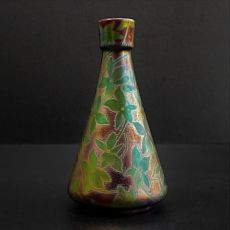 Art nouveau vase  by Clement Massier