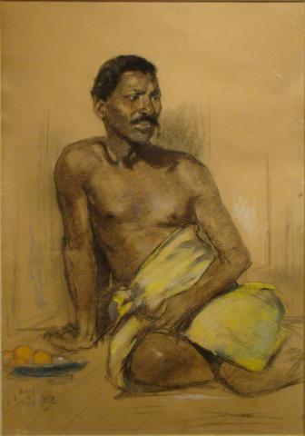 Portrait of a man  by Salomon Garf