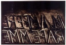 'M Ampere' by Bruce Nauman